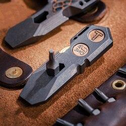 Alliage de titane MINI petit pied-de-biche outil Portable décapsuleur