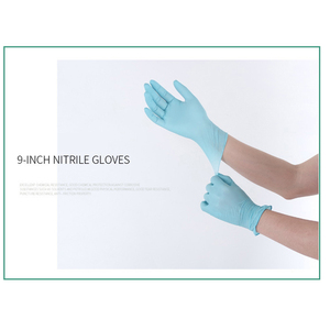 Image 4 - Manufacturers Direct Selling Disposable Nitrile Gloves 100 Pieces Food Protection Tattoo Electronic Experiment Check Wholesale