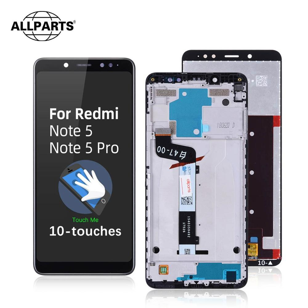 Original LCD For Xiaomi Redmi Note 5 Pro LCD Touch Screen With Frame For Xiaomi Redmi Note 5 Pro Display Note 5 Plus Prime