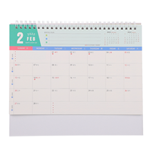 1 Pc Convenient 2022 Desktop Calendar Ornament Notepad Calendar for Planning And Noting