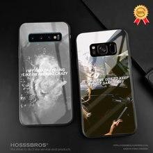 Funda de silicona suave con letras de Lana del rey para teléfono Samsung Galaxy S8 S9 S10e S10 Note 8 9 10 Plus