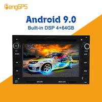 Android 9.0 4+64GB DVD player Built in DSP Car multimedia Radio For VW/Volkswagen/Touareg/Multivan/T GPS Navigation Stereo Audio
