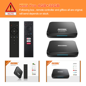 Image 5 - Mecool Androidtv 10.0 KM3 ATV Box Google Certified S905X2 4K Media Player 2.4G/5G WiFi KM9 Pro Android 9.0 Smart Set Top Box