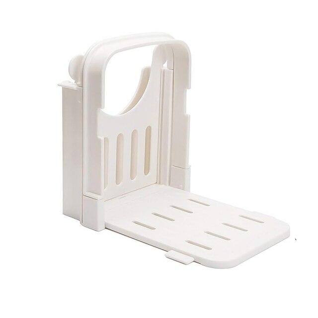 Bread Slicer Guide Adjustable Bread Roast Loaf Slicer Cutter Folding Toast Slicing Mold Kitchen,Dining & Bar TB Sale