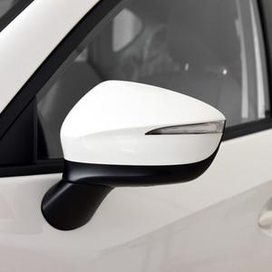 Image 2 - اكسسوارات السيارات Hengfei مرآة أسفل قذيفة غطاء مرآة الإطار لمازدا CX 3 CX 4 CX 5 2015 2019