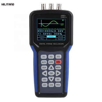 JDS2023 Oscilloscope Kit Handheld Digital 1-Channel 20MHz 200MSa/s Oscilloscopes Multimeter AC 110-220V - DISCOUNT ITEM  47% OFF Tools