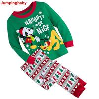 2019 Пижама; infantil Gecelik Roupas Koszula; ночная рубашка с рисунком из мультфильма; Рождественская Пижама для мальчиков; детская пижама для девочек; пижа...