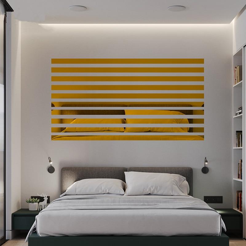 מדבקות מראה לקיר במגוון צבעים 2
