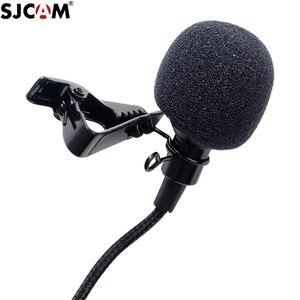 Image 3 - מקורי SJCAM SJ8 A10 אביזרי Tepy C חיצוני מיקרופון עבור SJ8 פרו/בתוספת/אוויר SJ9 שביתה/מקס פעולה מצלמה אבזרים
