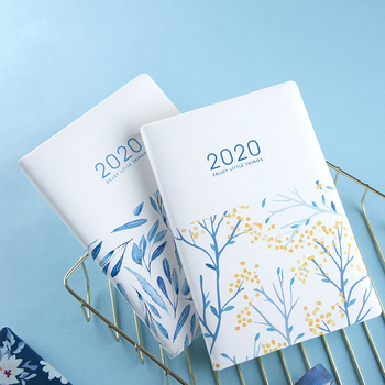 Agenda 2020 Planner Organizer Kawaii A5 Diary Notebook and Journal Weekly Monthly Notebook Wonderful Back to School Travel Book 1