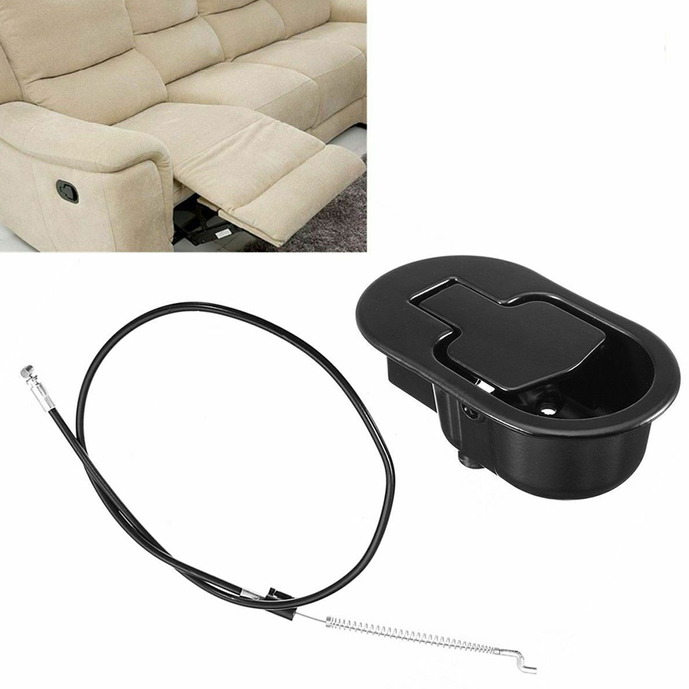 Cable Home Metal Corrosion Resistant Trigger Chair Sofa Wide Use Recliner Handle Set Hardware Replacement Smooth Release Lever