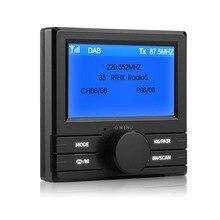 """Для автомобильного радио DAB 003 DAB+ коробка цифровой радио антенна тюнер fm-передача 3,"""" экран дисплея"""