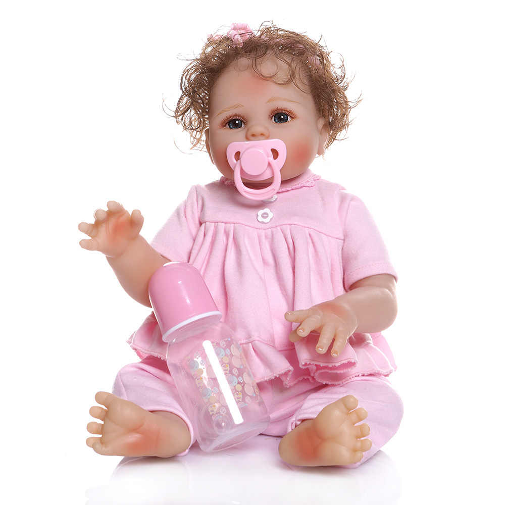 NPK Brand Genuine Product Hot Selling Recommended Rebirth Model Infant Doll Full Rubber Bath Toy