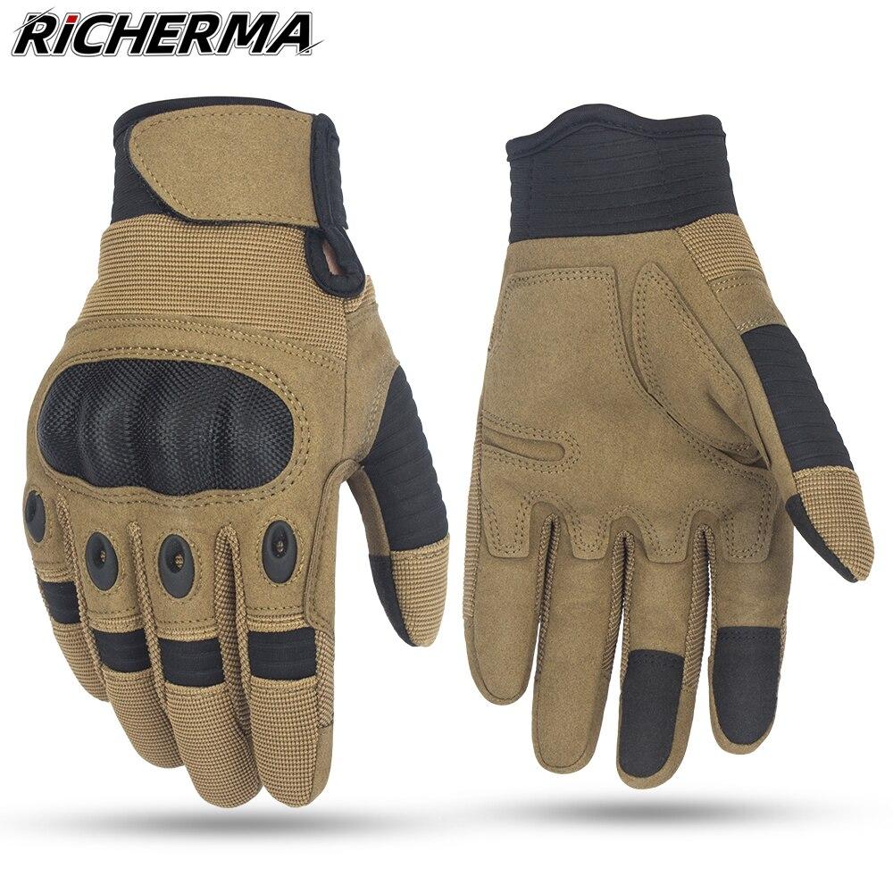 Gants de protection pour moto, pour Sports dhiver, doigt complet, pour Motocross, pour écran tactile, durables, pour KTM, vtt