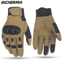 Gants de protection pour moto, pour Sports d'hiver, doigt complet, pour Motocross, pour écran tactile, durables, pour KTM, vtt