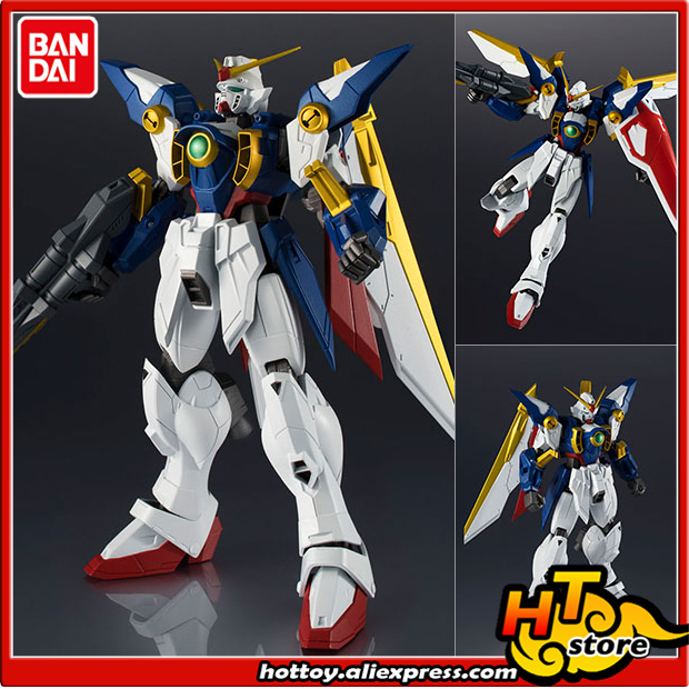 100% Original BANDAI SPIRITS Tamashii Nations GUNDAM UNIVERSE Action Figure - XXXG-01W WING GUNDAM