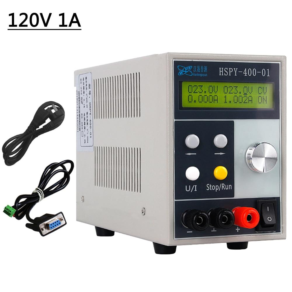 220V программируемый Профессиональный Регулируемый DC Питание переключение Мощность источник скамья источника цифрового 120V 1A