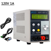 220V Programmable Professional Adjustable DC Power Supply Switching power Source Bench Source Digital 120V 1A