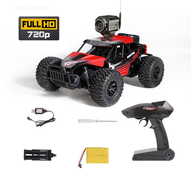 25KM/H Electric High Speed Racing RC Car with WiFi FPV 720P Camera HD 1:18 Radio Remote Control Climb Off-Road Buggy Trucks Toys 6