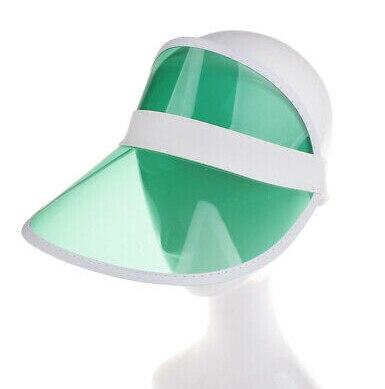 1 шт. летняя повседневная мужская и женская неоновая шляпа солнцезащитный КОЗЫРЕК ГОЛЬФ Спортивная теннисная Кепка Солнцезащитная шапочка, Кепка - Цвет: Зеленый