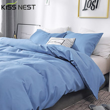 Modern Simple Brushed Bedding Sets Euro,Duvet Cover Pillowcase 3 Pieces,Queen King for Home Single Double,All-match Bedroom