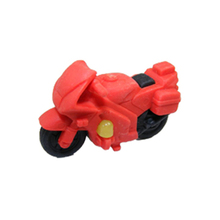 Free Shipping Wholesale Retail Promotion Motorcycle Design  Children School Stationery Rubber Eraser Set for Kids Gift 90pcs