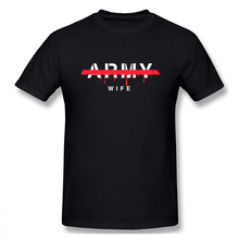 100% cotton Army Wife Gift For Heart Military Girlfriend print casual mens o-neck t shirts fashion Mens Basic T-Shirt