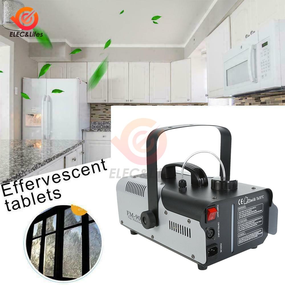 EU/US/UK 900W 1L Car Home Electric Disinfector Sprayer Machine Air Purifier Remote Control Fogger Atomizer Disinfection Machine