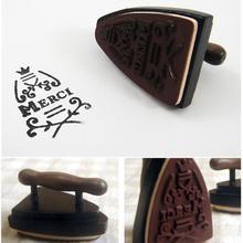 1pcs/lot Retro Mulifunction Iron Retro Sewing Machine Shape For Wedding Post Vintage Stamps