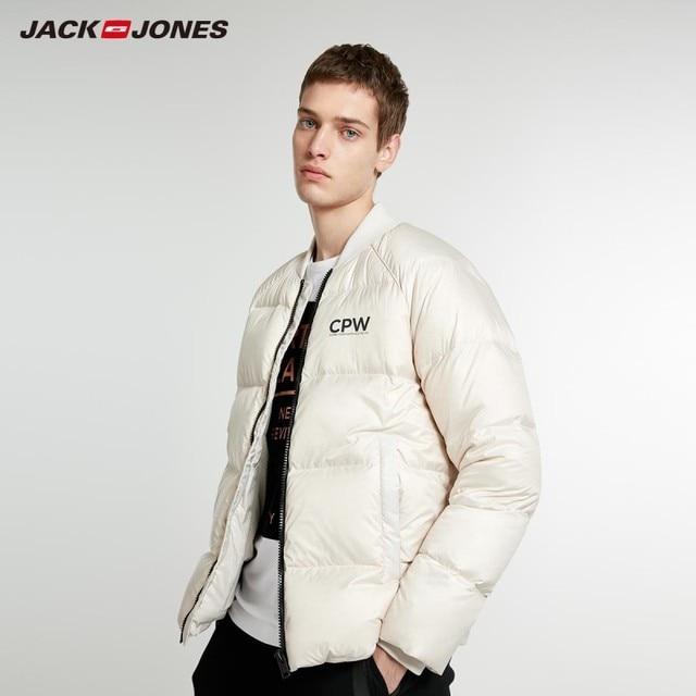 Jackjones 男性の冬の野球襟ショートジャケットスタイル 218412544