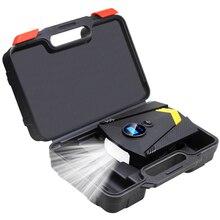 Ящик для инструментов) Цифровая автомобильная шина надувной насос освещение Авто воздушный компрессор для автомобилей колеса шины электрический 12 В шин насос