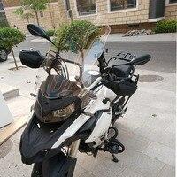 Motorcycle Wind Deflectors Windshield Windscreen For Benelli TRK502 TRK 502