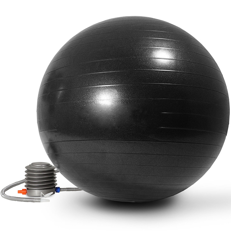 Men Anti Burst Exercise Balls 55cm-75cm Gym Fit Ball Professional Pilates Yoga Fitness Balance Stability Ball Supports 2200lbs