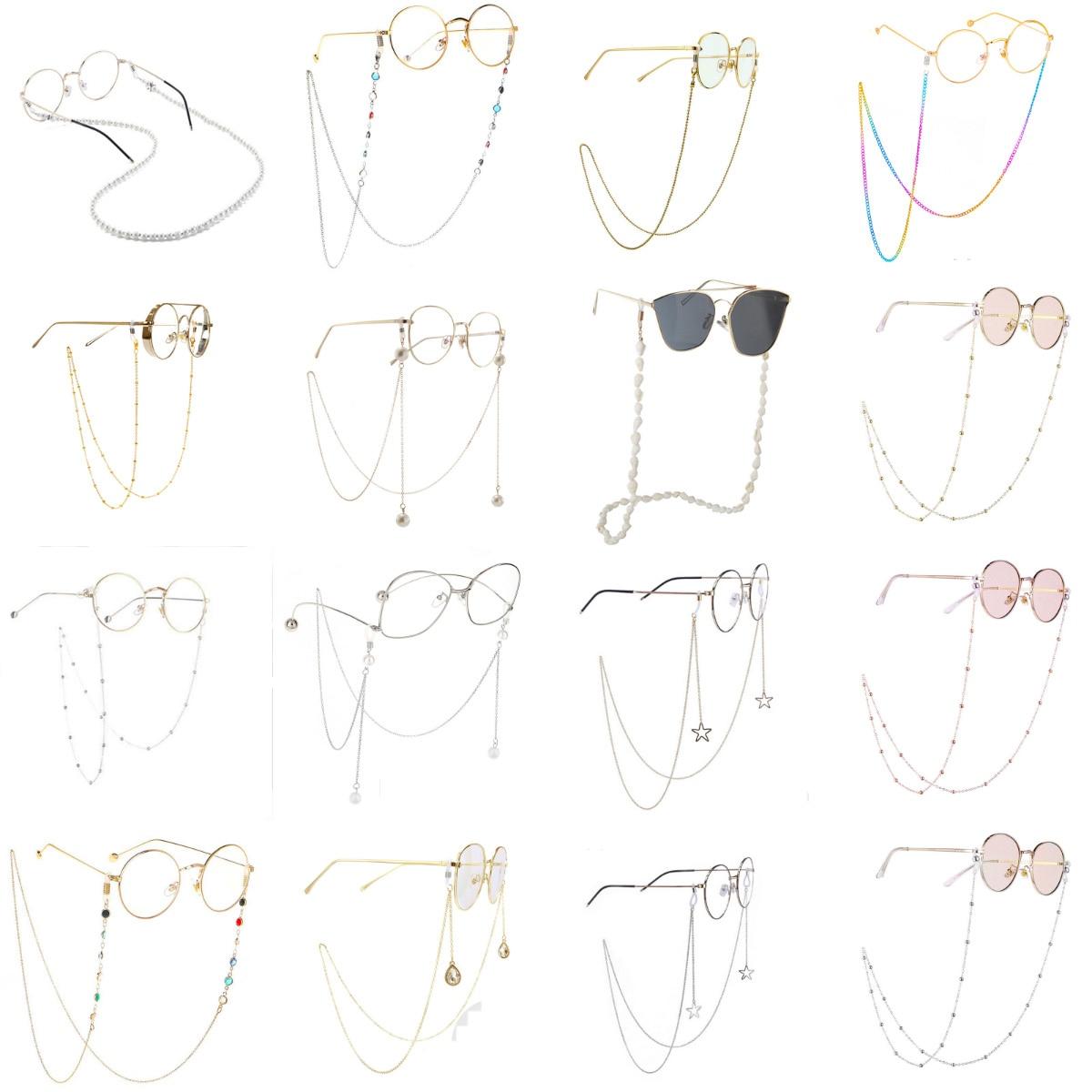 1pcs  Fashion Eyeglass Strap Reading Glasses Hanging Chain Sunglasses Spectacles Holder Neck Cord Glasses Slip Metal Chain