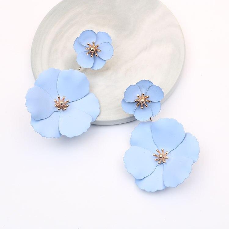 Abnehmbare Neue Design Blume Ohrring Boho Schmuck Ohrringe für Frauen 2019 Erklärung Ohrring Boucle D'oreille Femme Kolczyki Geschenk