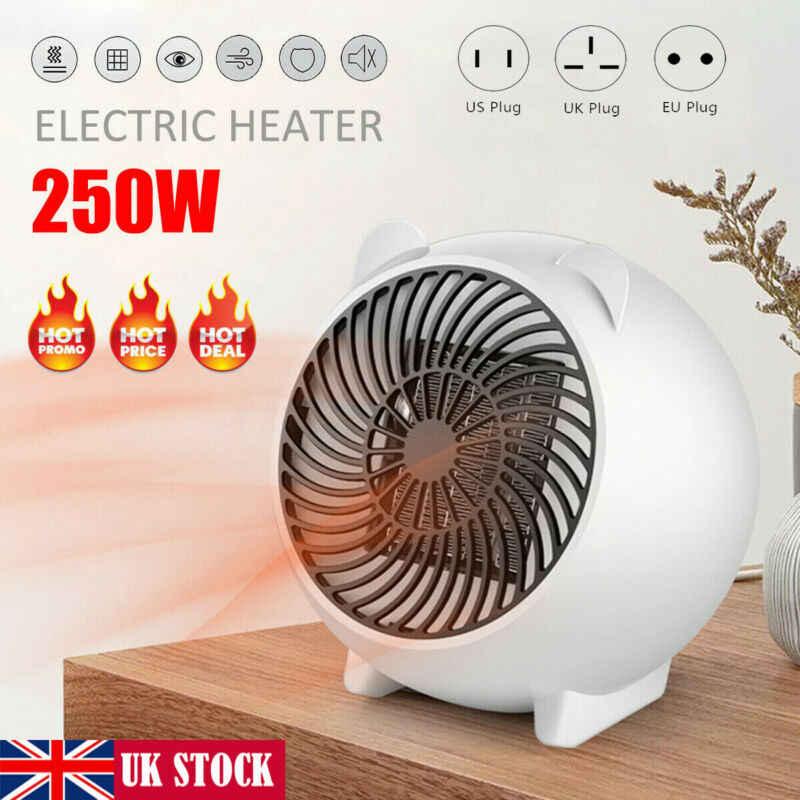 Mini radiateur électrique portatif en céramique de PTC d'hiver de radiateur de ventilateur de 500W