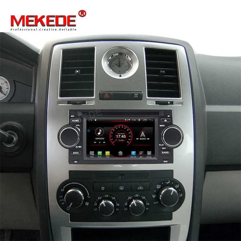 MEKEDE アンドロイド 9.0 カー Dvd プレーヤーのためのグランドチェロキーコマンダラングラークライスラー 300C PT クルーザーセブリング口径 RAM