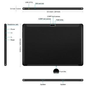 Image 5 - 2020 버전 10 인치 안드로이드 9.0 파이 3G 전화 통화 태블릿 32 기가 바이트 eMMC 듀얼 카메라 5.0MP 1280x800 HD 화면 와이파이 GPS 태블릿 선물