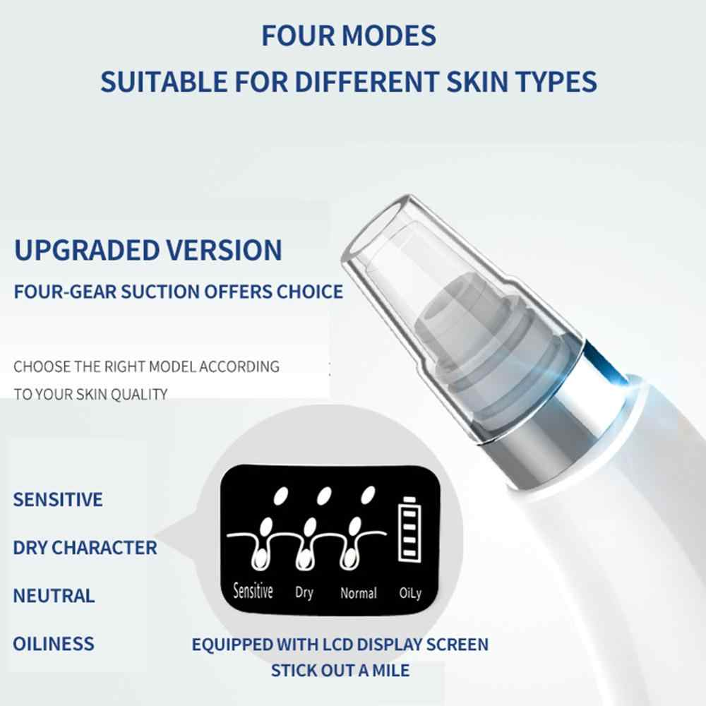LCD points noirs solvant visage acné pores vide Facial pores profonds acné bouton enlèvement aspiration outil de soin de la peau aspirateur point noir