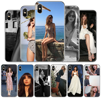 Dakota Johnson Cover Soft Silicone Phone Case For iPhone 5 5S 6 6plus 7 8 plus X XR XS Max 11 PRO Max SE 2020 image