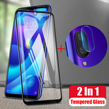 2 in 1 Back Camera Lens Film Tempered Glass For Xiaomi Mi Play Protective Screen Protector