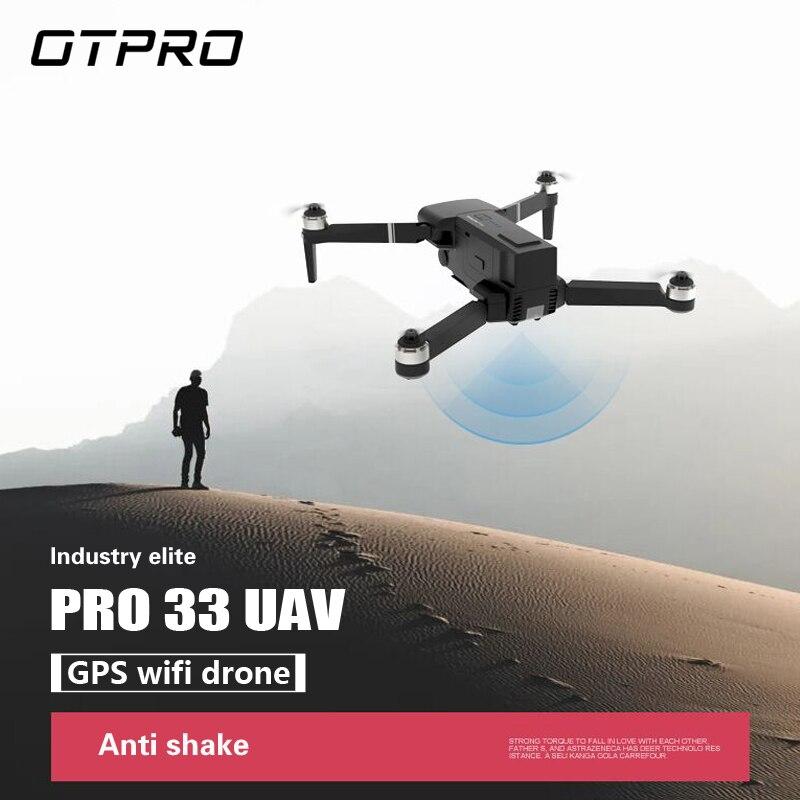OTPRO 4K UHD GPS Brushless MINI RC Drone With UHD FPV WIFI HD Camera Gimbal RC Quadcopter Professional RTF DTON VS H117S Zino