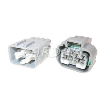 1 Set 8 Pin 90980-10891 Car Headlight Cable Socket Waterproof Light Lamp Connector Plug For Toyota image