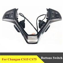 Für changan CS15 CS75 multifunktionale lenkrad control taste Audio cruise taste schalter auto zubehör