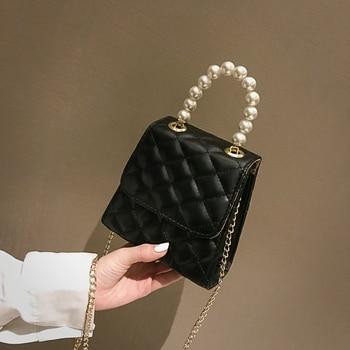 ¡Novedad de 2020! Bolso de verano, bolso bandolera para mujer, bolso de moda con diamantes, bolso con tira de cadena