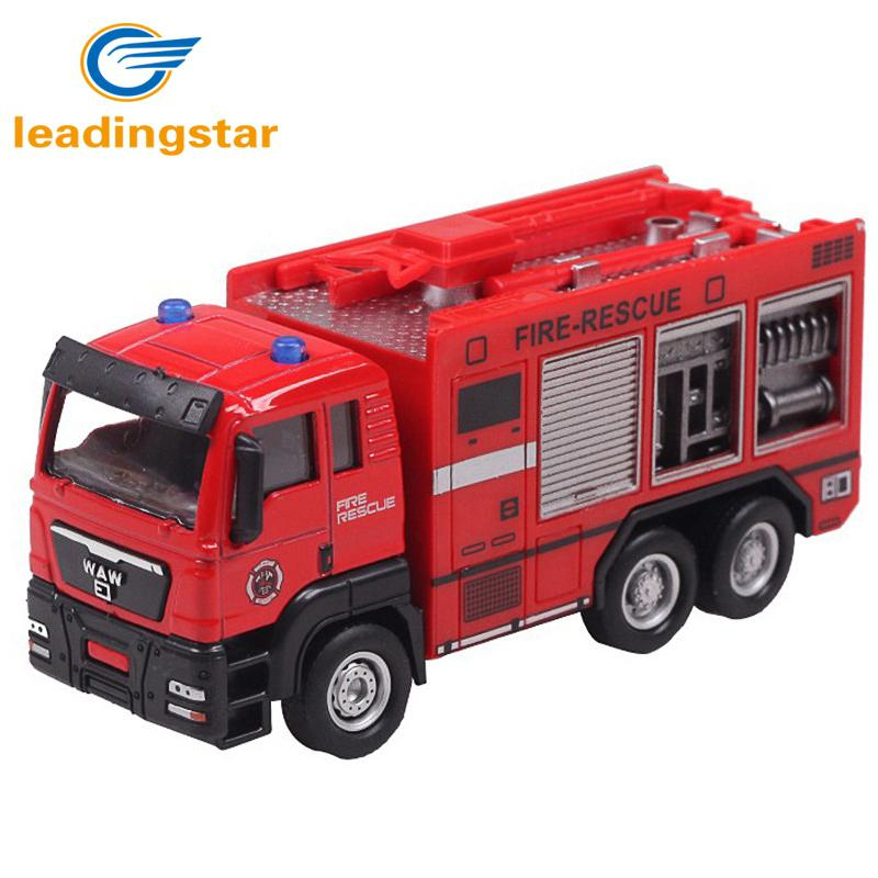 Kuulee 1:55 Push And Go Friction Powered Metal Car Model Construction Trucks Toy Diecast Vehicle For Kids Birthday/Holiday Gifts