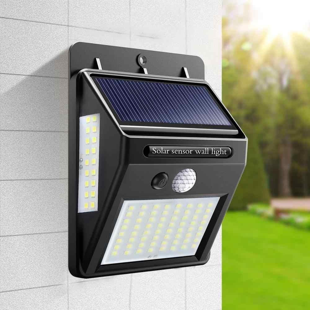 20 светодиодный светильник на солнечной батарее, светодиодный датчик движения PIR, настенный светильник, водонепроницаемый уличный настенный светильник для сада, светодиодный светильник для безопасности
