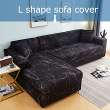 Corner sofa cover spandex sofa cover for living room couch cover section sofa slipcover stretch L