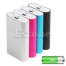 1 PC 10000mAh Power Bank Aluminium Fall Kit 3x18650 Batterie Ladegerät DIY Box für Handys Dropship