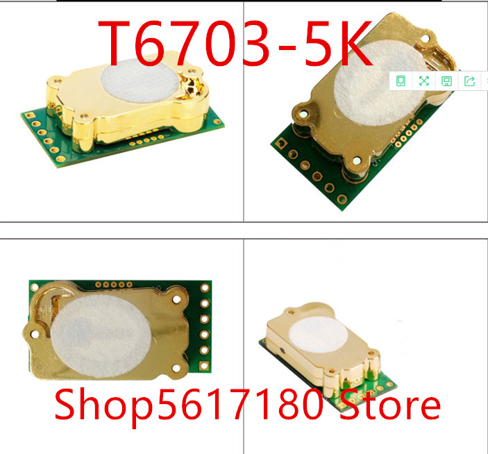 Free Shipping NEW 1PCS/LOT  NDIR CO2 Module T6703 Carbon Dioxide Sensor, CO2 Sensor, T6703-5K Small Size High Accuracy